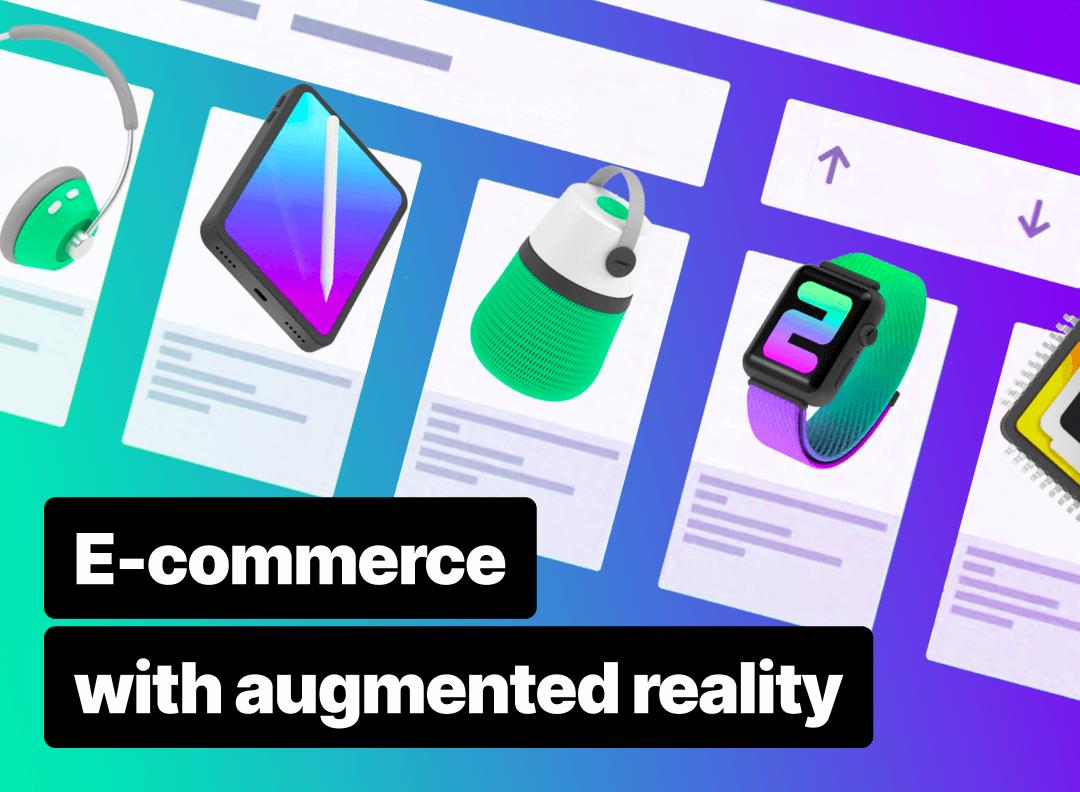 AR e-commerce mobile app