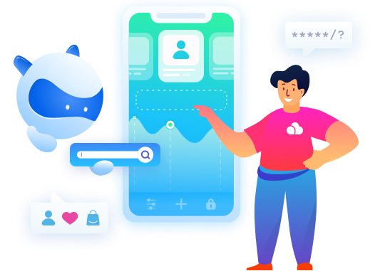 Bright user-centric apps